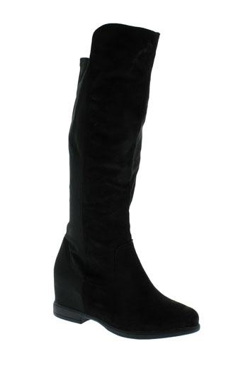 own bottes femme de couleur noir