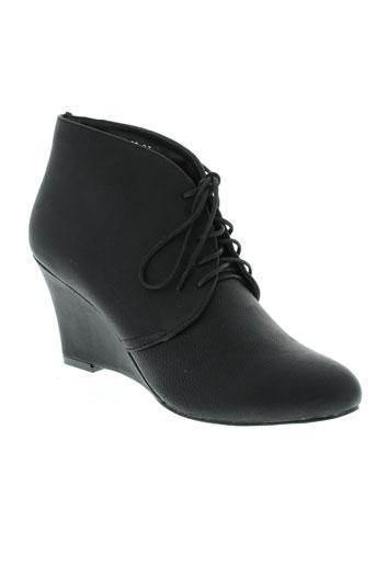 bruna rossi chaussures femme de couleur noir