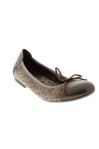 acebos ballerines fille de couleur marron