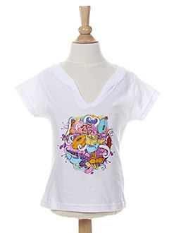Produit-T-shirts / Tops-Fille-STADE TOULOUSAIN