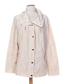 Veste casual beige WHITE LABEL pour femme