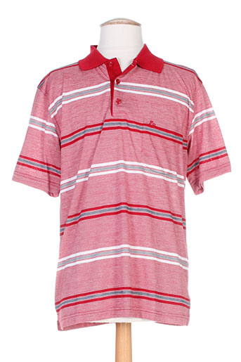 francesco botti t-shirts homme de couleur rouge