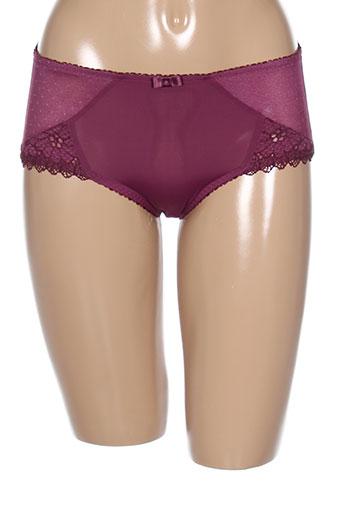 playtex lingerie femme de couleur violet