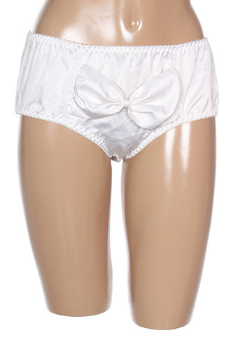 playful promises lingerie femme de couleur blanc