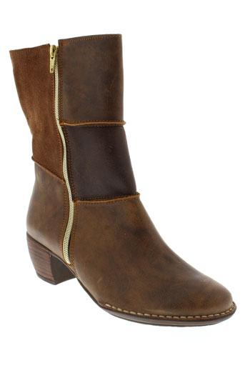 nice boots femme de couleur marron