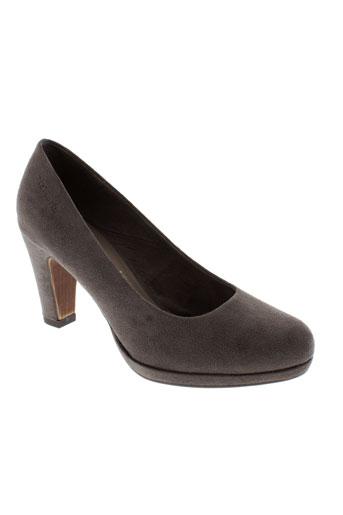 tamaris escarpins femme de couleur gris