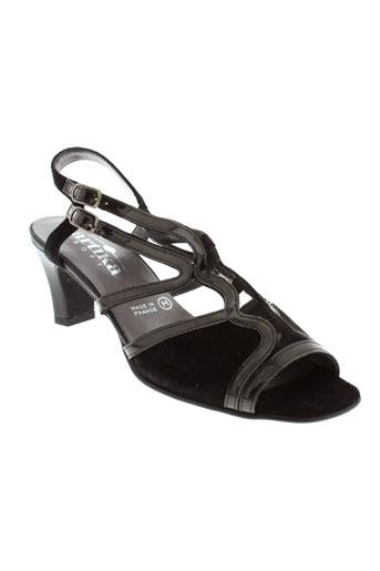artika et soft sandales et nu et pieds femme de couleur noir
