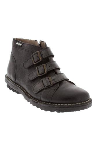 nice boots femme de couleur noir