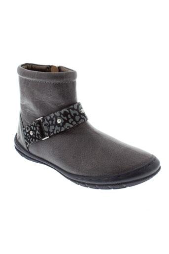mod8 boots fille de couleur bleu