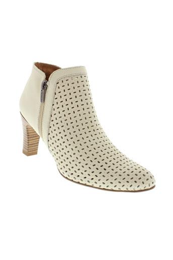 karston boots femme de couleur beige