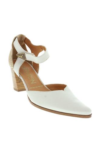 karston escarpins femme de couleur beige
