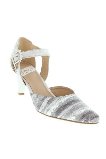sweet escarpins femme de couleur gris