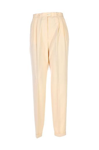 bleyle pantalons femme de couleur jaune