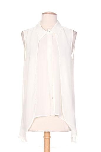 eleonora amadei chemises femme de couleur beige