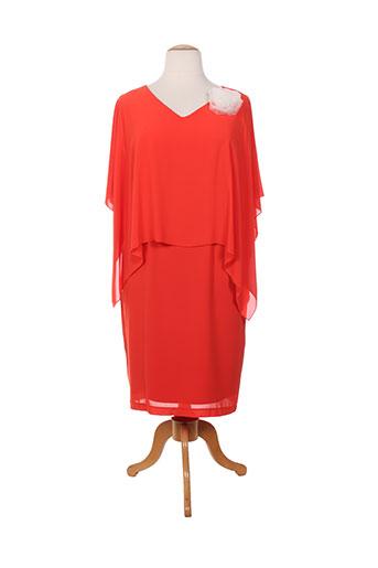 an ii vito robes femme de couleur rouge