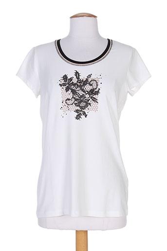 basler chemises femme de couleur blanc