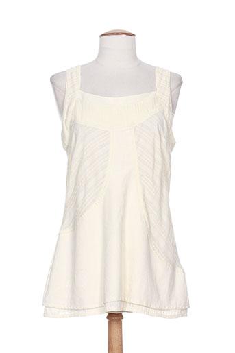 malia b chemises femme de couleur beige