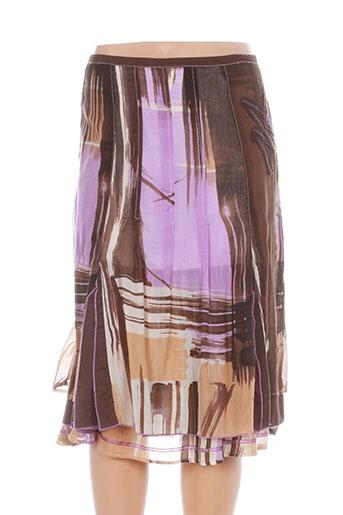 felino jupes femme de couleur violet