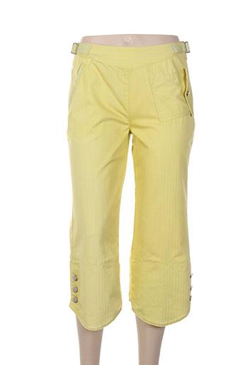 daniel amaury pantacourts femme de couleur jaune