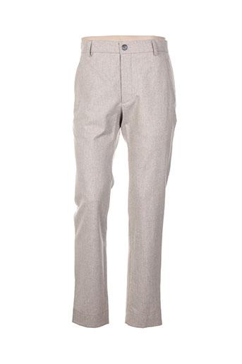 Pantalon chic beige MOHSIN ALI pour homme