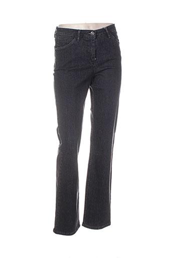 sbelt jeans pantalons femme de couleur beige