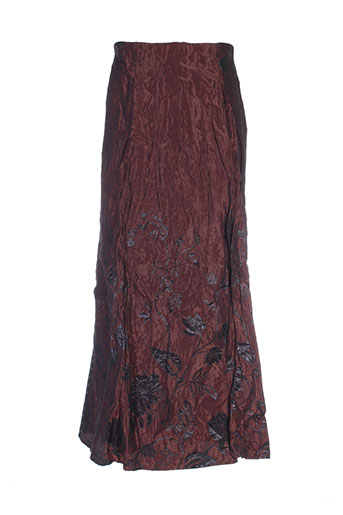 nathalie garcon jupes femme de couleur rouge