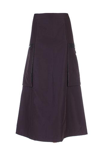 angora jupes femme de couleur violet