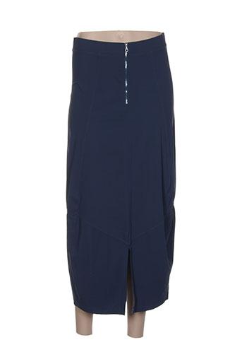 mcp jupes femme de couleur bleu