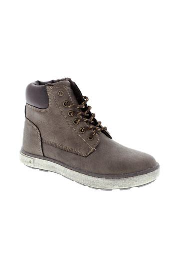 montega boots garcon de couleur marron