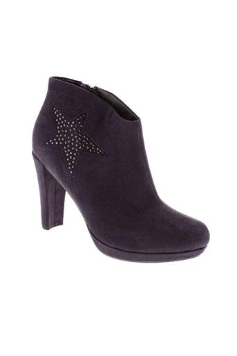 tamaris chaussures femme de couleur violet