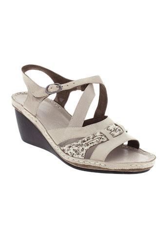 tbs sandales et nu et pieds femme de couleur beige