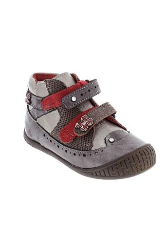 babybotte chaussures fille de couleur marron