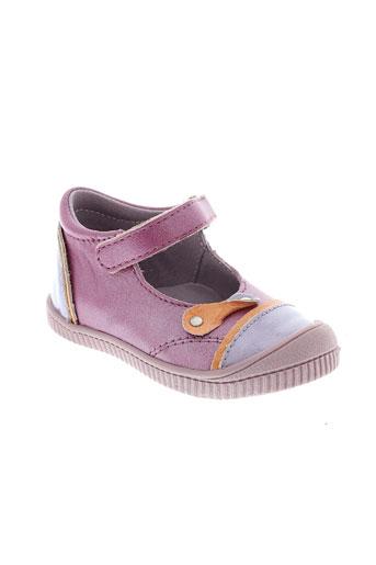 kickers villes fille de couleur violet