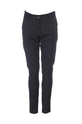 fly girl pantalons femme de couleur noir