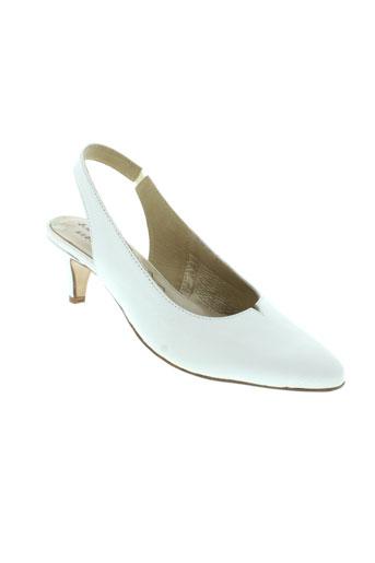 metayer chaussures femme de couleur blanc