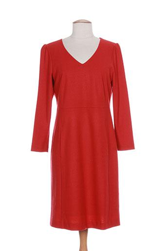 luisa cerano robes femme de couleur rouge