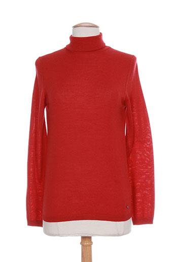 luisa cerano pulls femme de couleur rouge