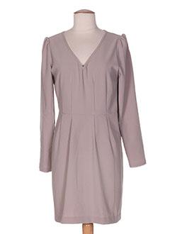 Robe mi-longue gris FAIRLY pour femme
