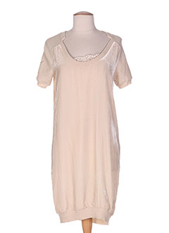 Robe pull beige FAIRLY pour femme