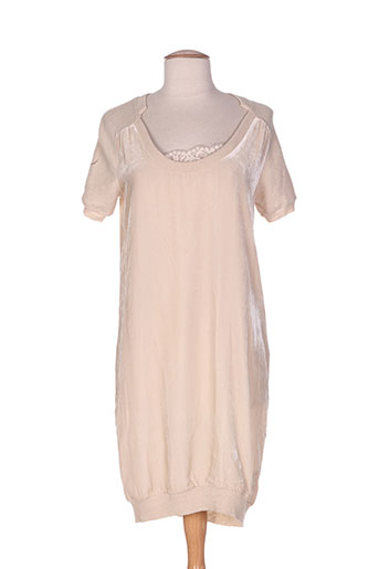 fairly robes femme de couleur beige