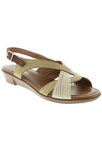 paula et urban sandales et nu et pieds femme de couleur beige