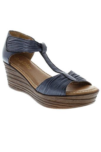 paula et urban sandales et nu et pieds femme de couleur bleu