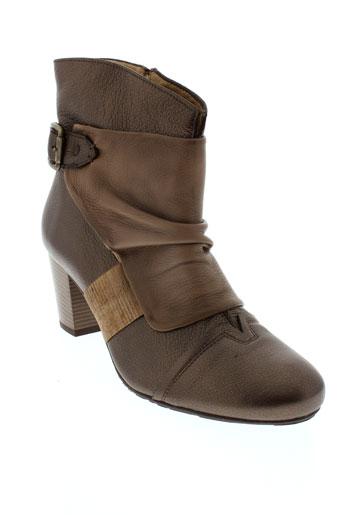 maciejka obuwie chaussures femme de couleur marron