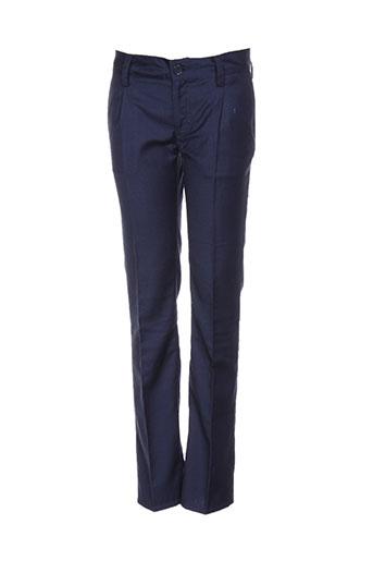 guess pantalons garçon de couleur bleu