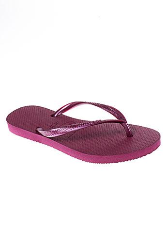 havaianas tongs enfant de couleur violet