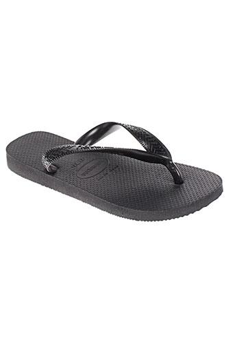 havaianas chaussures enfant de couleur noir