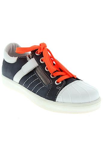 gbb chaussures enfant de couleur bleu