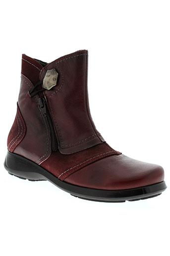 jose et saenz boots femme de couleur rouge
