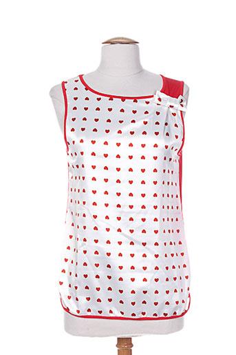 fehu chemises femme de couleur rouge