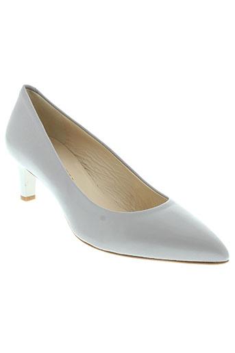 adrien escarpins femme de couleur gris